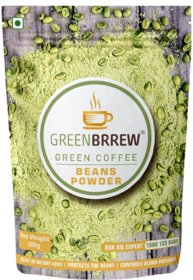 Greenbrrew Organic Green Coffee Beans Powder For Weight Loss - 200Gm