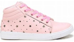 Latest Collection  Comfortable Boots For Women  (Pink)