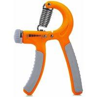 Liboni Adjustable Orange Grey Hand Grip And Fitness Gri
