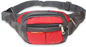 Nfi Essentials Waist Pack Travel Handy Hiking Zip Camera Pouch Money Phone Belt Sport Bag Bum Multipurpose Bag