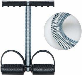 Liboni Black Tummy Trimmer Single Spring Full Body Fitness Equipment Ab Exerciser