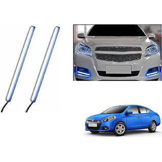 Autoladders Slim Daytime Led Drl Lights Ice Blue Set Of 2 For Renault Scala