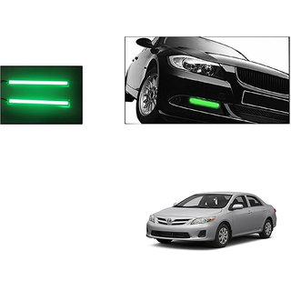 Autoladders Slim Daytime Led Drl Lights Green Set Of 2 For Toyota Corolla