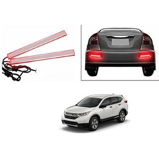 Autoladders Slim Daytime LED DRL Lights Red Set Of 2 For Honda CRV