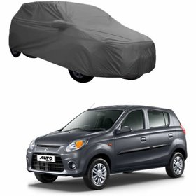 Ananat Maruti 800 Grey water resistant 2X2 Grey Complete car body cover