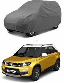 Anant 2*2 Grey Maruti Suzuki Breza Water Resistance car Body Cover