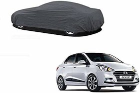 Anant Presents Quality Water Resistant Car Body Cover Special Design for Hyndai X cent  with Ultra Surface Body Protection (Grey)