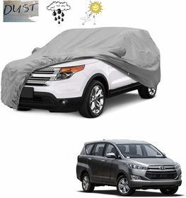 Anant Presents Quality Water Resistant Car Body Cover Special Design for Toyota Innova with Ultra Surface Body Protection (Grey)