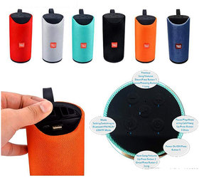 Alpha Pro Portable Bluetooth Speaker with extra bass and long battery life- Assorted Colors