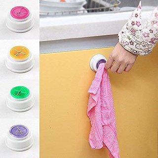REGAL  All Wash Cloth Clip Holder Clip Dishclout Storage Rack Bath Room Storage Hand Towel Rack