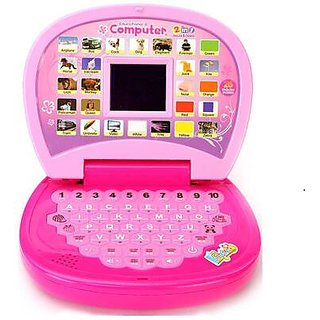 Kids Learning Educational Computer Cum Laptop With LED Display And Music
