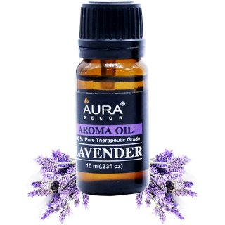 AuraDecor Lavender Aromatherapy Oil, 10ml