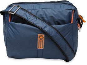 Nfi Unisex Polyester Multipurpose Cross Body Sling Bag (Y5 Blue)