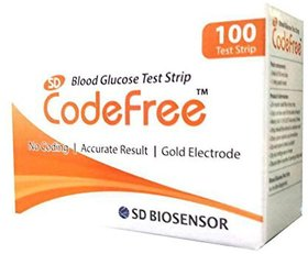 Sd Codefree 100 Test Strips