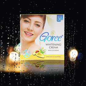 Goree Whitening Fairness Cream 25G ( Made In Pakistan 100 Original Product) With (Free Shipping) (No Of Units 1)