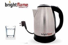 Brightflame Multipurpose Auto-Swich Electronic Kettle 1.8 LTR (Dimensions 23Cm X 16.5Cm X 20.5Cm)