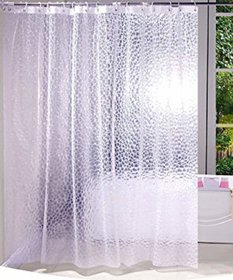 Casa-Nest Pvc .20 Mm Shower Curtain - 7Ft, Transparent