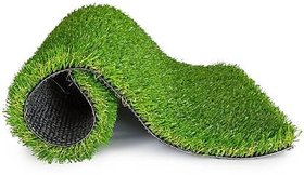 Fortune Plus Plastic Turf Carpet Mat Grass Carpet, Artificial Grass For Balcony , 25Mm Size 6.5 X 5