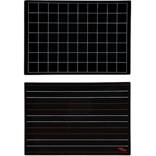 Slate With Lines And Squares