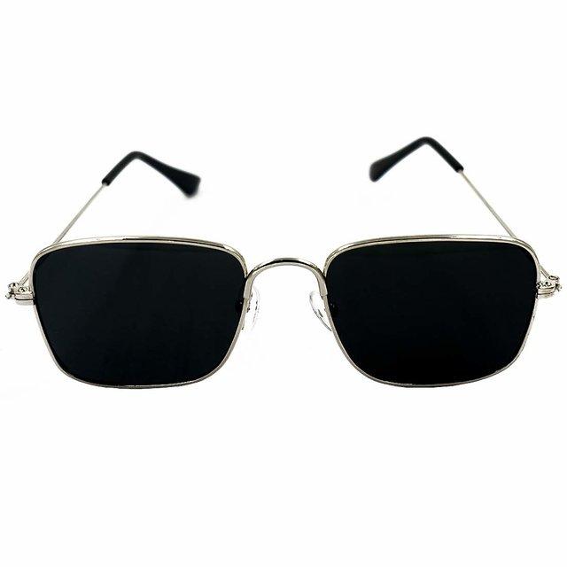 Rectangular Sunglasses Festival Fashion Wedding Two Tone Green /& Black Unisex