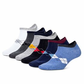 6 Pairs Ankle Socks (Assorted Color)