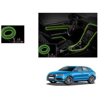Autoladders Car Interior Ambient Wire Decorative Led Light Lemon For Audi Q3