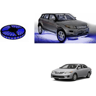 Autoladders Car Underbody 5 Meters Cuttable Blue Led Roll For Toyota Corolla