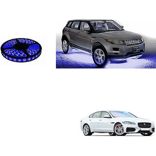 Autoladders Car Underbody 5 Meters Cuttable Blue Led Roll For Jaguar Xf