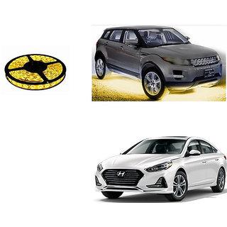 Autoladders Car Underbody 5 Meters Cuttable Yellow Led Roll For Hyundai Sonata
