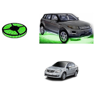 Autoladders Car Underbody 5 Meters Cuttable Green Led Roll For Maruti Sx4