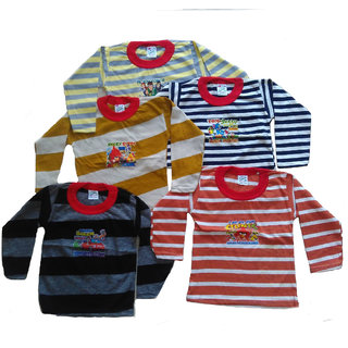 Ch Fashion Kids Printed T Shirt Pack Of 5