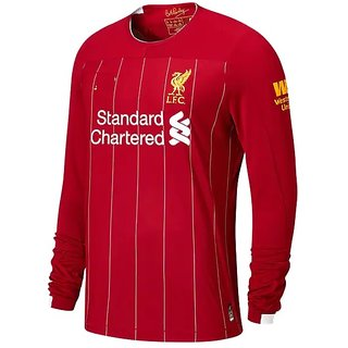 Man City Red Color Long Sleeve Dry Fit Jersey