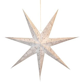 Art Papyrus Paper Star Lantern Christmas Star S-5 Hanging Star Pack Of 5