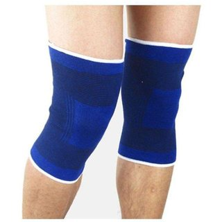 Yash Hr Knee Support Knee Guard Knee Support (Free Size, Blue,Pair)