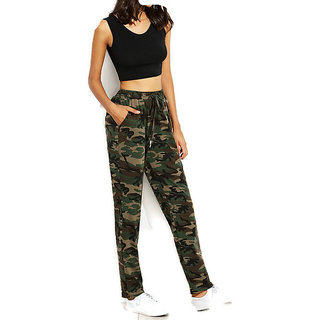 Women Fre Size Army Leggings Or Pant