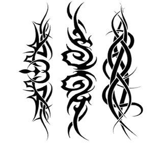 Monster Temporary Tattoo Waterproof For Girls, Men, Women Beautiful Popular Crossing Hand Ring Tattoo