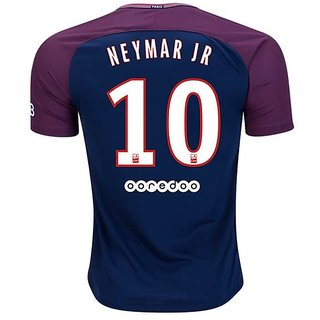 Imported Psg White Color V-Nack Half Sleeve Dry Fit Jersey