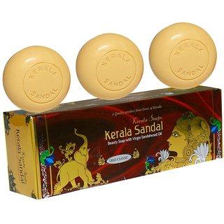 Kerala Sandal Soaps Tro Clasic 450 Gm ( 150 Grm 3)