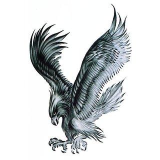 Monster Temporary Body Tattoo Waterproof For Girls Men Women Beautiful Popular Eagle Tattoo