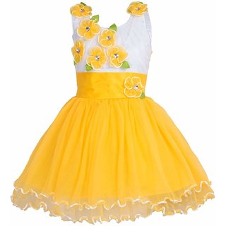Clobay flower party frock for girls