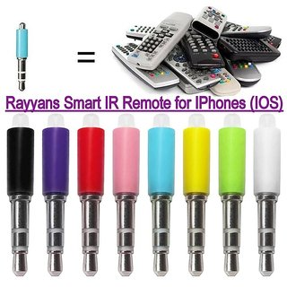 Rayyans Smart IR Mini 3.5 mm Remote Control for Infrared Appliances