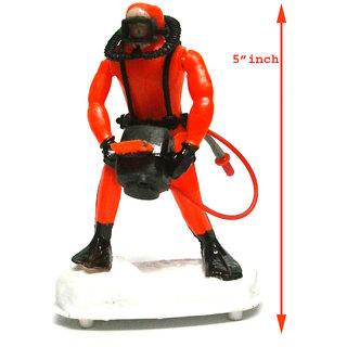 Aquarium Decoration action  toy - camera man