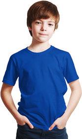 Haoser Cotton tshirts For Boys / royal blue tshirt for kids /  plain tshirts for kids boys