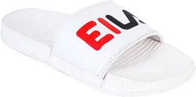 Edee White Slide Slipper For Men's