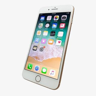 Buy Apple Iphone 8 Plus 64Gb 3Gb Ram Gold Refurbished Mobile With 6 Months Seller Warranty ...