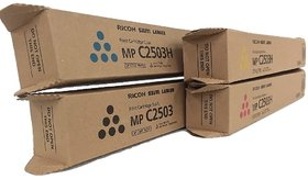 Ricoh Mp C2503/2003/2011 Pack Of 4 Multi-Colour Cymk Toner Cartridge