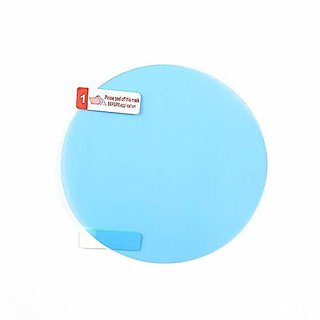 Dy Anti-Fog Protective Film For Car Rear View Mirror And Side Window Glass, Pack Of 2 Pieces
