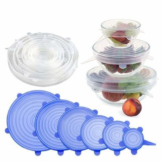 Crypton Reusable Silicone Stretch Lids
