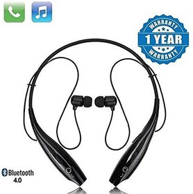 Esportic Sports In the Ear Headset Compatible Neckband Hbs-730 , Volume Control For All Android Smartphones(Black)