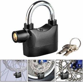 Rv Marketing Antitheft Motion Sensor Security Padlock Siren Alarm Lock for Motor, Bikes, Home, Shop
